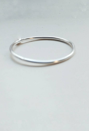 Thin Silver Ring Band