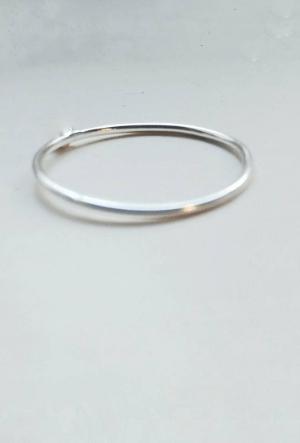 Thin Silver Ring Band