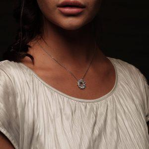 doughnut charm necklace