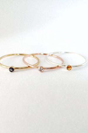 Birthstone Jewellery - Earrings, Necklaces & Rings