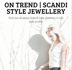 On Trend | Scandi Style Jewellery