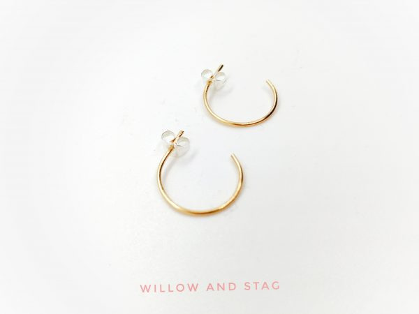 gold hoop earrings 1