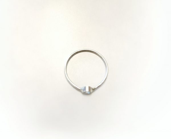 top view delicate ring