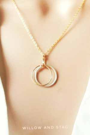 Minimalist Ring Holder Necklace