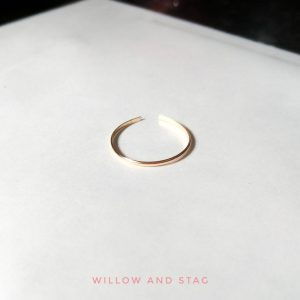 Gold Open Band Ring