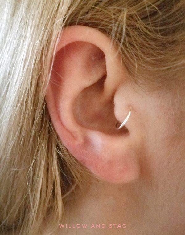 tragus hoop earring