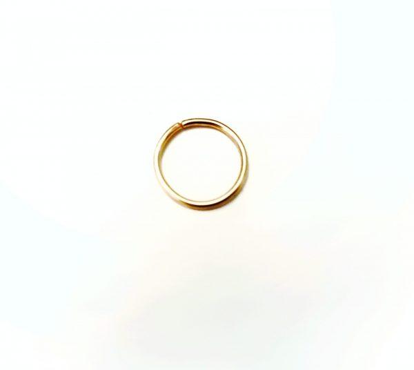 universal infonite hoop earring