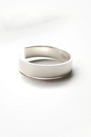 Silver Toe Ring – 4mm sterling silver band