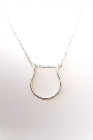 Simple Ring Holder Necklace- ring keeper