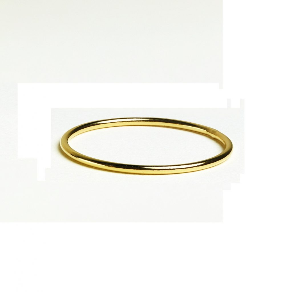 yellow gold ring band photo