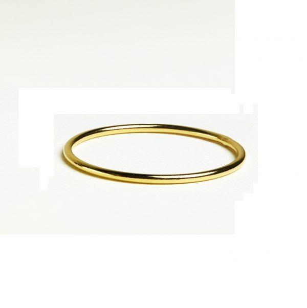 yellow gold ring band photo