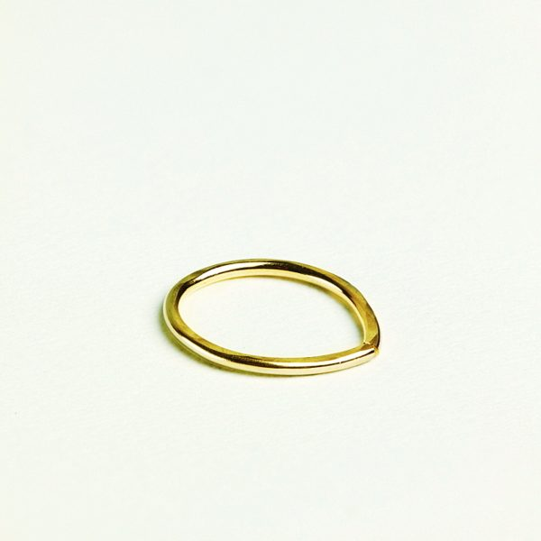 pointed textured septum ring
