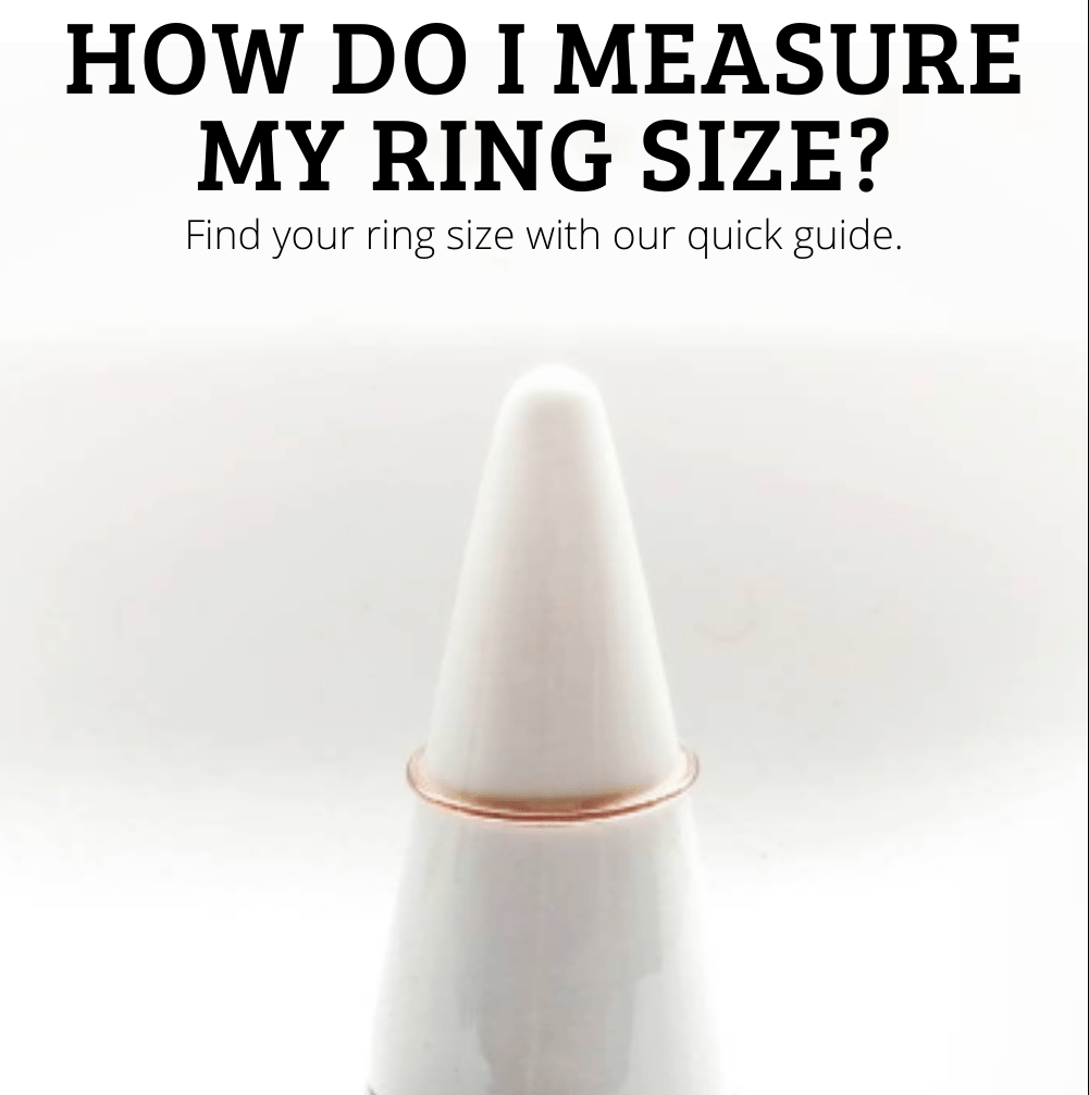 how to measure ring size article