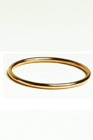 Dainty Rose Gold Ring in 9ct Gold