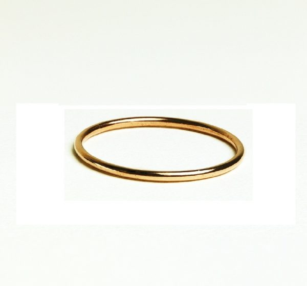 rose gold ring band photo