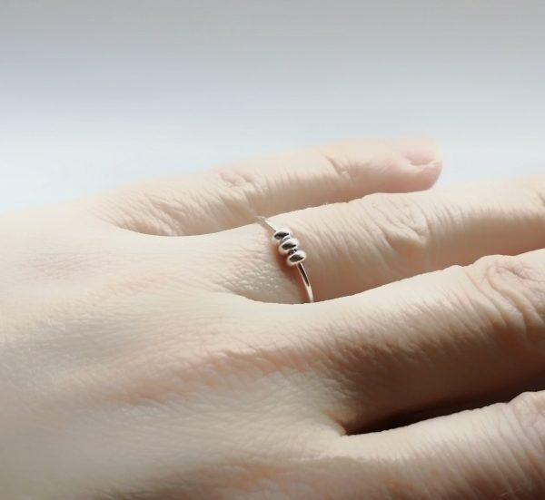 doughnut spinner fidget ring
