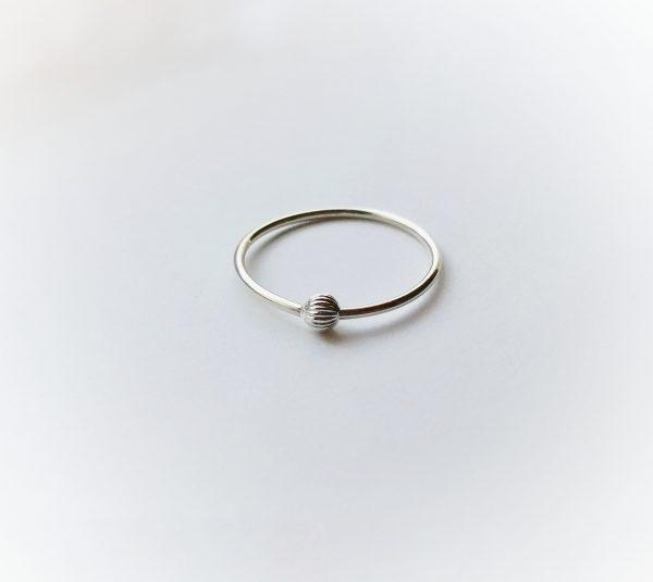 textured line 1 spinner ring