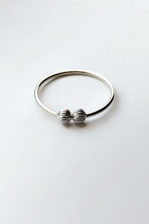 Textured Ball Spinner Ring – Anxiety / Fidget