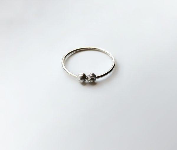 textured line 2 spinner ring