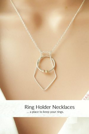 Ring Holder Necklaces
